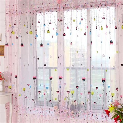 balloon curtains for sale aliexpress com buy hot blue pink curtain window curtains