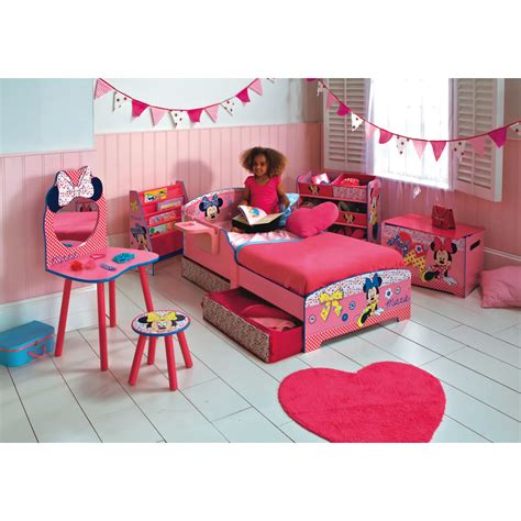 minnie mouse room wallpaper children bedroom furniture