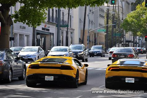Lamborghini Of Beverly Lamborghini Huracan Spotted In Beverly California