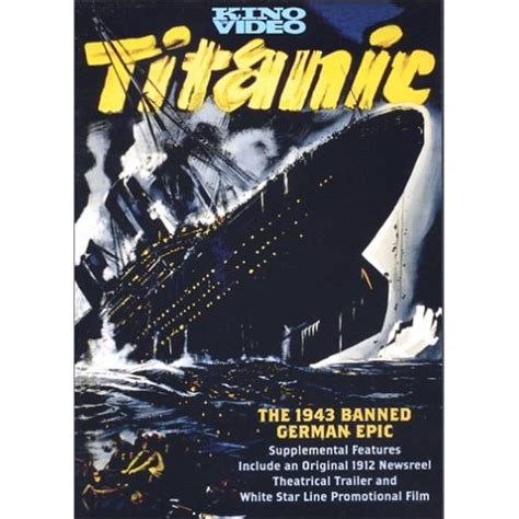 titanic film german the nazi german film version of the titanic cruising the