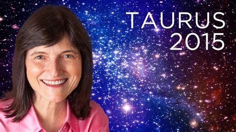 taurus 2015 year ahead barbara goldsmith youtube