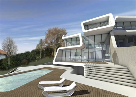 Zaha Hadid Home | k 252 snacht villa in zurich switzerland by zaha hadid architects