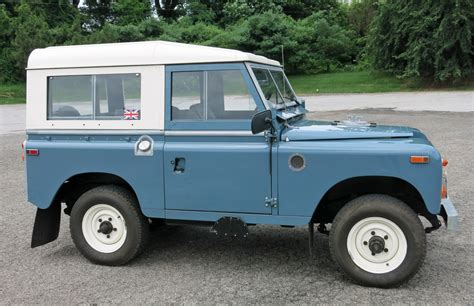 1970 land rover 1970 land rover series iia connors motorcar company