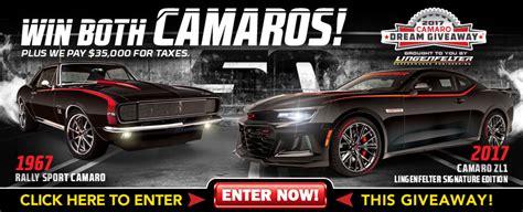 Facebook Camaro Giveaway - win camaro giveaway home main 3 dreamgiveaway blog