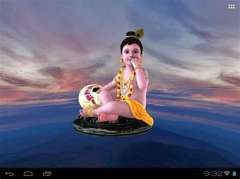 krishna touch app for android 3d krishna laddu gopal live wallpaper apps on google play