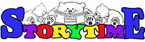 themes in old story time storytime logo