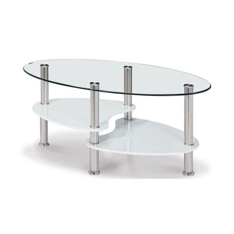 Table Basse Salon En Verre