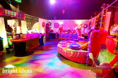 60s decor themed special corporate events shag shack vancouver bc