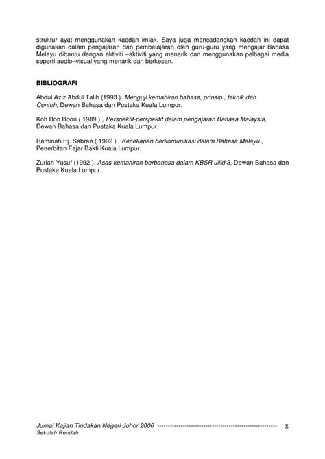 format artikel kajian tindakan contoh jurnal mengajar guru viver 233 afinar o instrumento