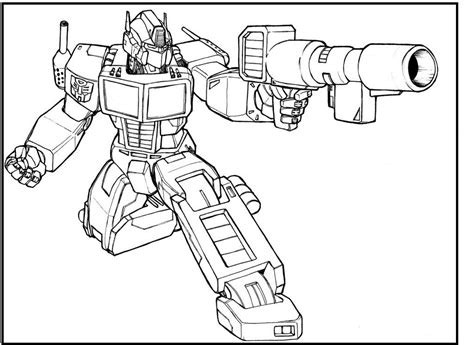 imagenes para colorear optimus prime optimus prime transformers coloring picture for kids
