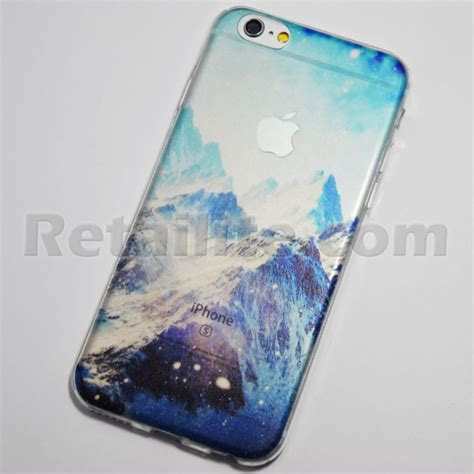 Soft Iphone 7 7s Softcase Cocose Naga snowy mountains iphone 6 6s soft