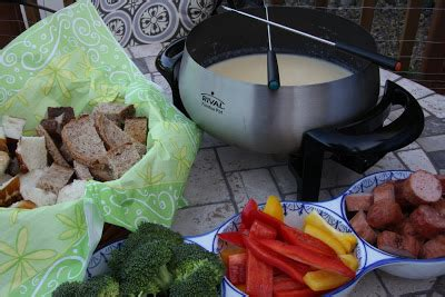 The Most Fabulous Fondue by Cooking Dunkin Style Cheese Fondue