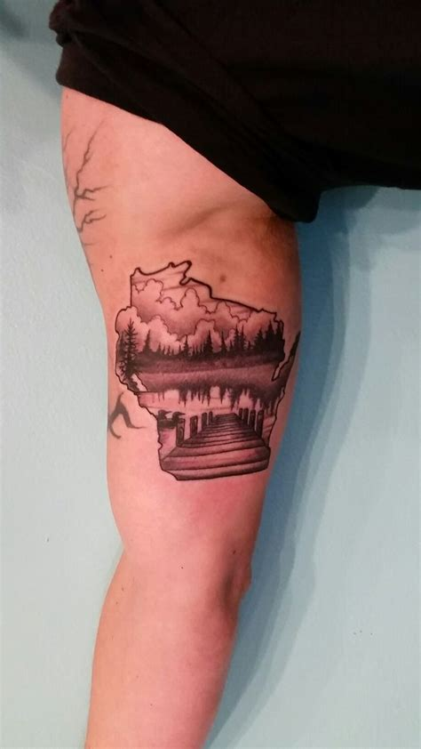 best 25 wisconsin tattoos ideas on