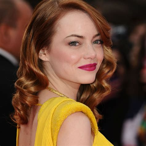 emma stone yellow makeup ideas for yellow outfit makeup as per dress color