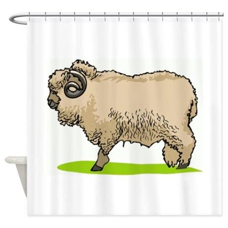 sheep shower curtain sheep shower curtain by graphicdream