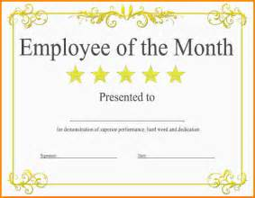 Free Employee Of The Month Certificate Template by 7 Employee Of The Month Certificate Nypd Resume