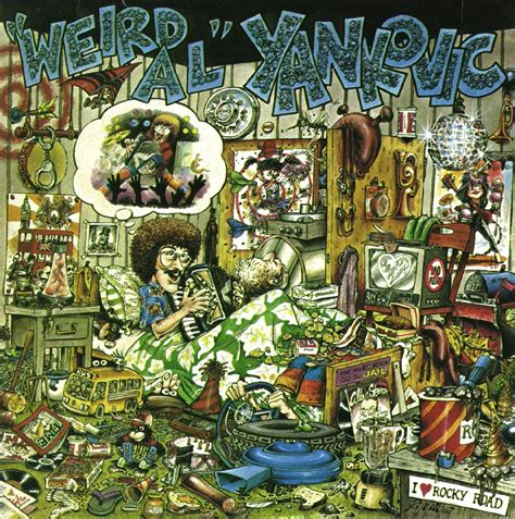 weird al yankovic jurassic park original song check out al s autograph on the back cover of peter and