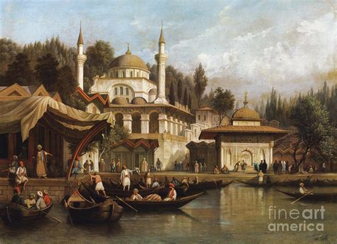 Daily Life In Istanbul During Ottoman Empire Painting By Ottoman Empire Istanbul