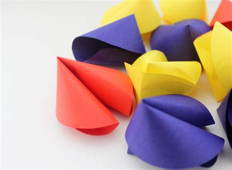and craft custom fortune cookie paper craft the craftables
