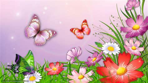 sfondi desktop fiori e farfalle scaricare gli sfondi natura erba fiori farfalle sfondi
