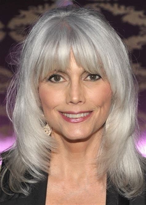 square faced older women with grey hairstyles 30 stylish gray hair styles for short and long hair