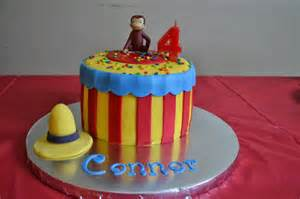 ideas for cakes on curious george cakes