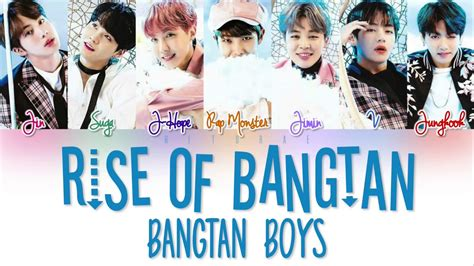 free download mp3 bts rise of bangtan bts 방탄소년단 rise of bangtan 진격의 방탄 color coded lyrics