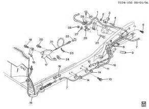Brake Line Diagram 1998 Chevy S10 2001 Chevy S10 Vacuum Line Diagram Car Interior Design