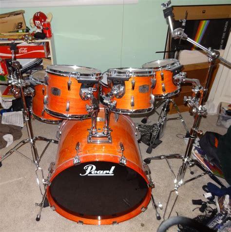 Belleza Pearl Orange Big Size need advice on my elx drum kit