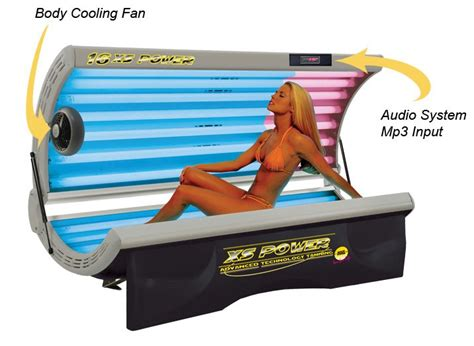 buy tanning bed 16 xs power quot delux quot facial tanning bed