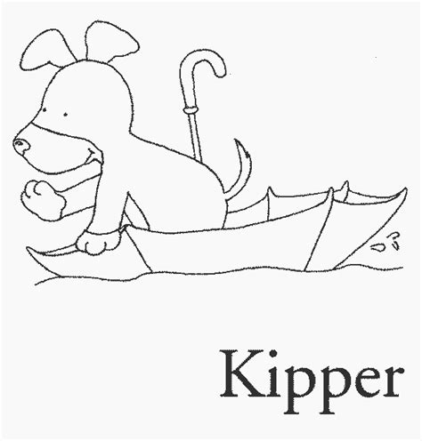 kipper the dog colouring pages colouring in pinterest