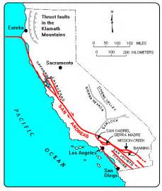 features california geological survey