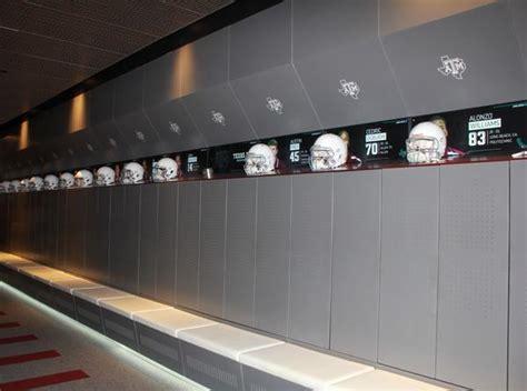 a m locker room a m s new football locker room will your mind straightcollege