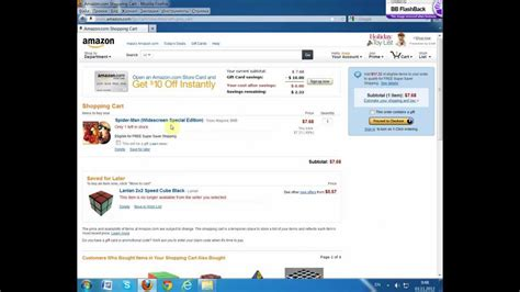 amazon youtube how to remove items in your cart on amazon youtube