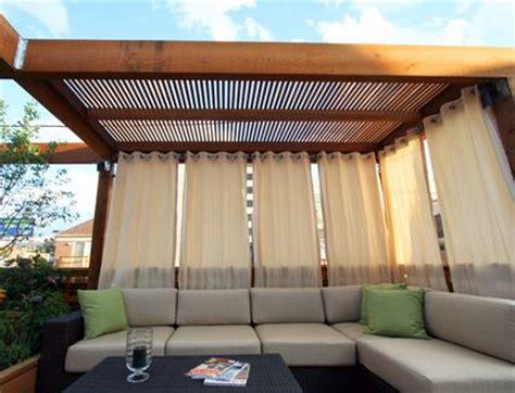 Sichtschutz Vorhang Garten 760 by Roof Deck Ext 233 Rieur Garten Balkon Und