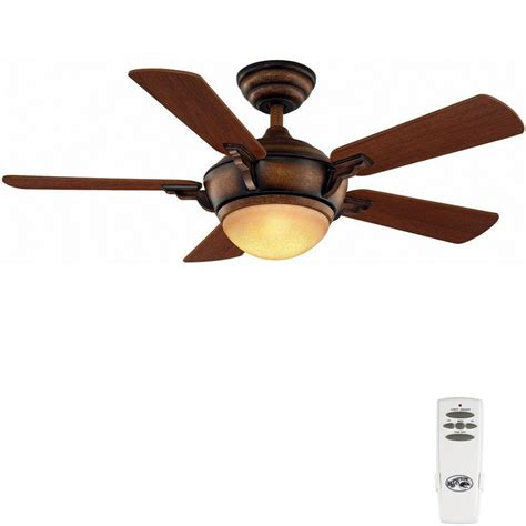 44 ceiling fan with remote hton bay midili 44 in indoor gilded ceiling