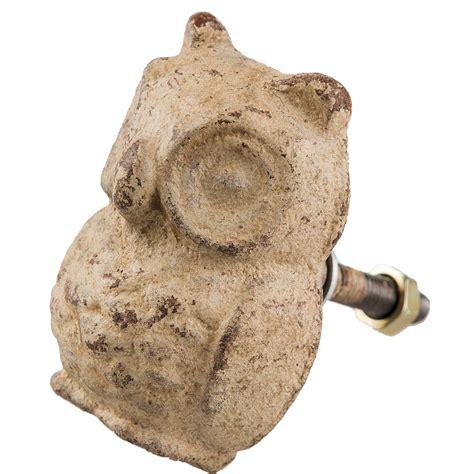dogs owl swallows door knobs drawer pulls handles metal