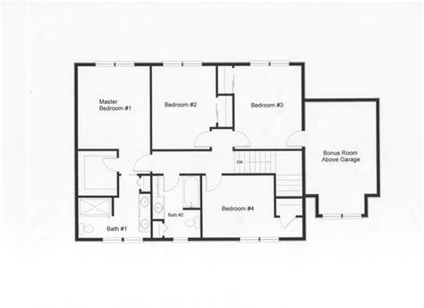4 Bedroom Floor Plans With Basement by 2 Story Colonial Floor Plans Monmouth County Ocean County