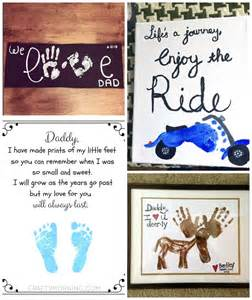 Craft Gift For Kids - father s day footprint gift ideas from the kids crafty morning