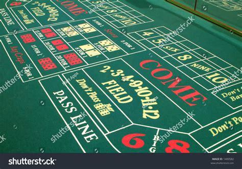 las vegas casino craps table layout stock photo 1400582