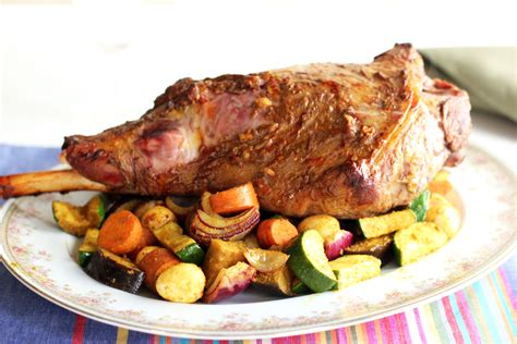 recipe roast leg of lamb roast leg of lamb recipe dishmaps