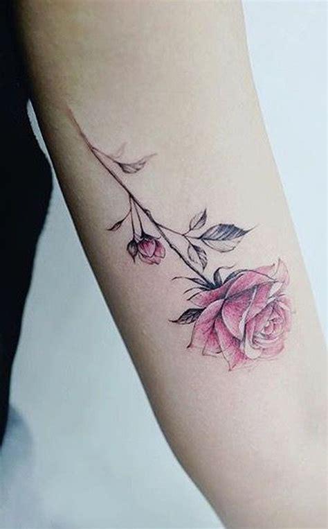 simple  small flower tattoos ideas  women
