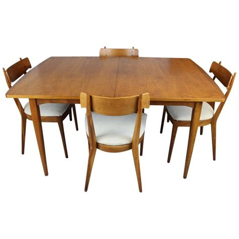 drexel dining room table kipp stewart dining table and chairs for drexel at 1stdibs