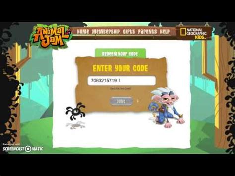 Animal Jam Membership Gift Card Codes - full download animal jam how to redeem your membership giftcard
