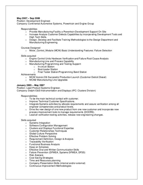 build and release engineer resume 28 images doc 4101 build release engineer resumes 72