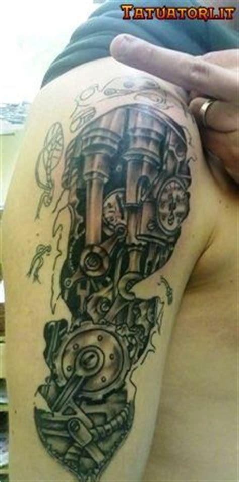 mechanical parts tattoo gear tattoo mechanical gears and gears on pinterest