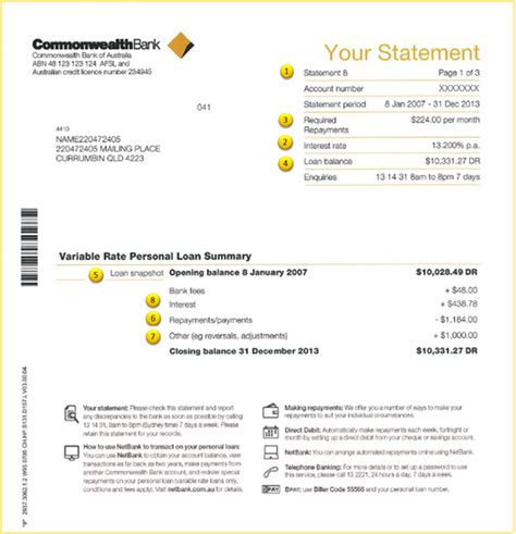 mortgage statement template mortgage statement template 28 images best photos of