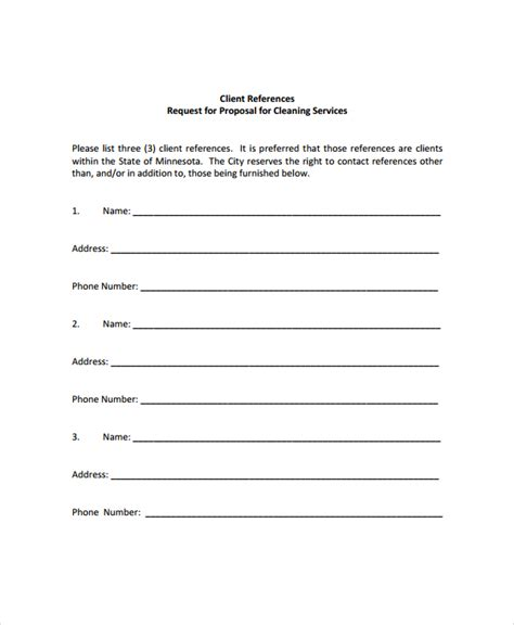 business proposal template for cleaning services cleaning