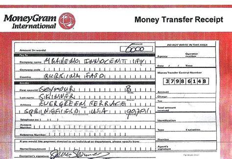 Moneygram Money Order Receipt Template by 15 Moneygram Receipt Resume Guide
