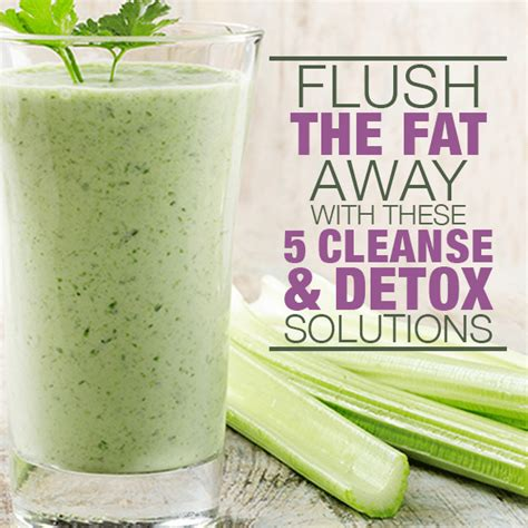 best detox cleanse 5 flushing and cleanse solutions